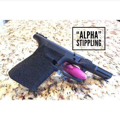 """Alpha"" Stippling"