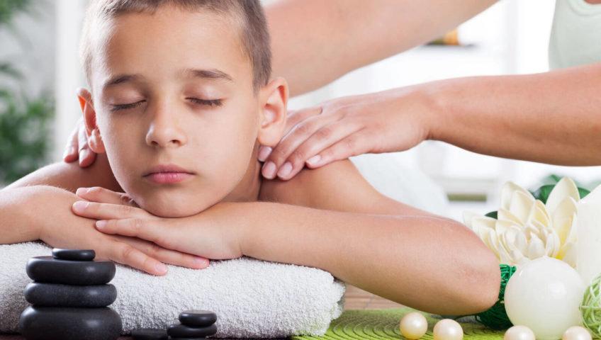 Детский массаж (старше 7 лет)