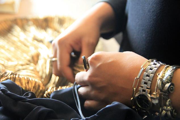 """Couturier LAURA BLAGOGEE: """"Ik ontwerp voor een persoon, niet voor een maat"""""""