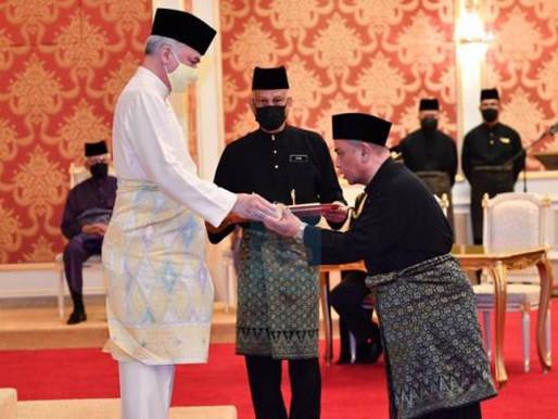 Tukar MB bukan sejarah yang dibanggakan - Sultan Perak