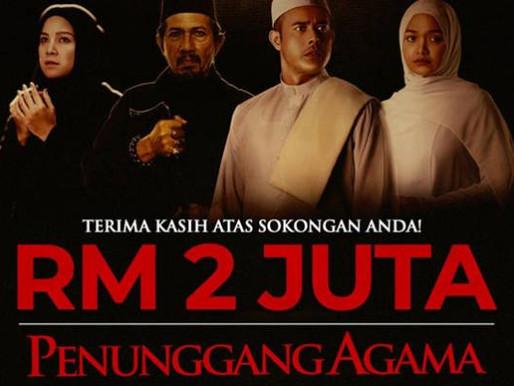 Penunggang Agama bakal ditayangkan di Singapura, raih kutipan RM2 juta dalam dua minggu