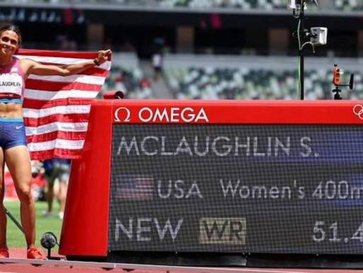 Tokyo 2020: McLaughlin raih emas 400m berpagar, pecah rekod dunia