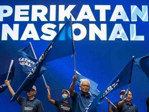 Prn Melaka,Agihan kerusi parti gabungan  PN telah dicapai