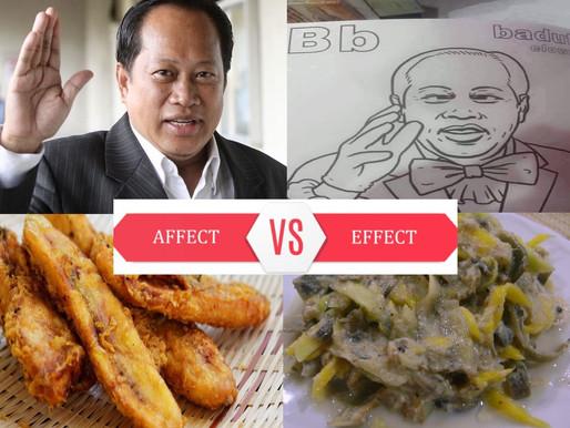 Ahmad Maslan: Pisang goreng atau pecal basi?