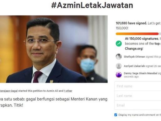 #AzminLetakJawatan