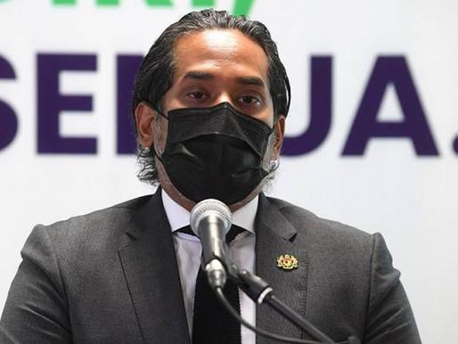 Boleh rentas negeri bawa tanggungan untuk janji temu vaksin - Khairy
