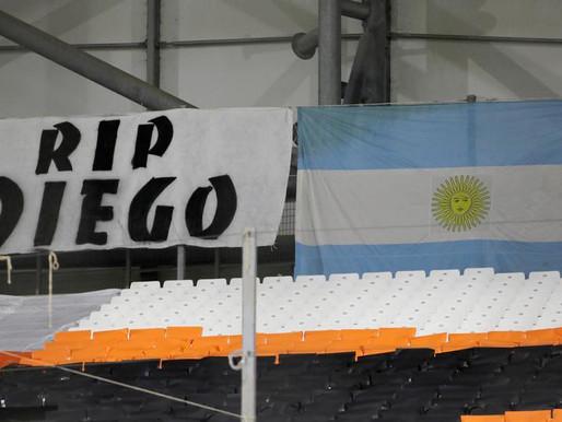 Agong zahir ucapan takziah atas kematian Maradona
