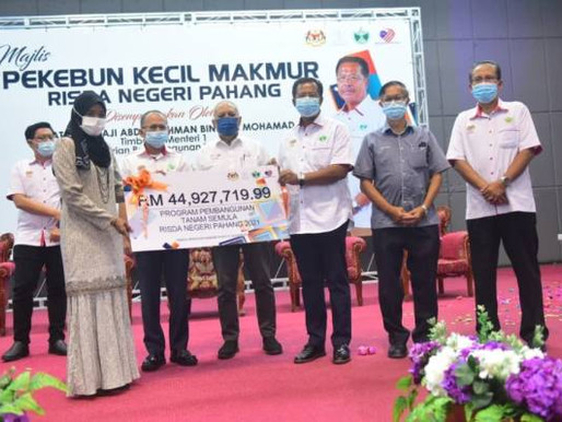 KPLB salur RM410.8 juta bantu RISDA