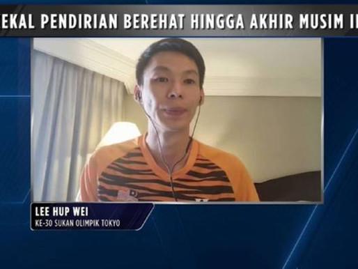 Hup Wei kekal pendirian berehat hingga akhir musim