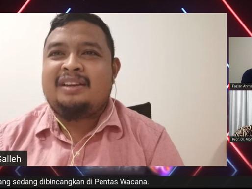 Armada pelik Ketua Pemuda UMNO memperlihatkan dirinya bukan sebahagian daripada kerajaan
