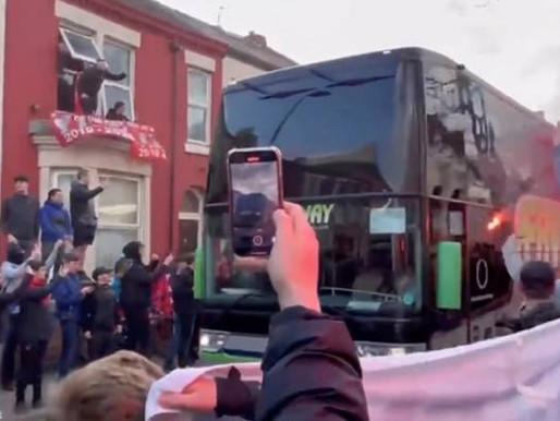 Tingkap bas Real Madrid dipecahkan penyokong, pengurusan Liverpool mohon maaf