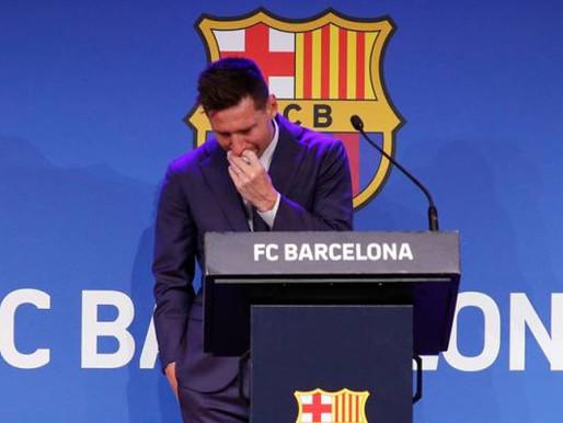 Messi tahan sebak, ucap selamat tinggal kepada Barcelona