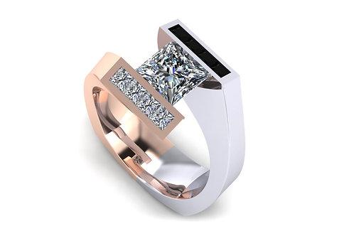 modern designer ring