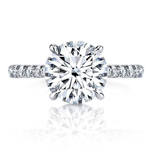 Round Brilliant Diamond EngagementRing