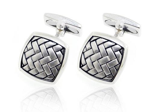 hoxton sterling silver cufflinks