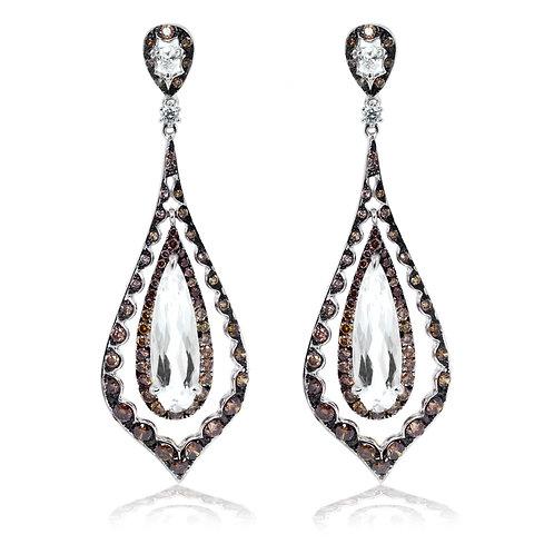 pear quartz earrings