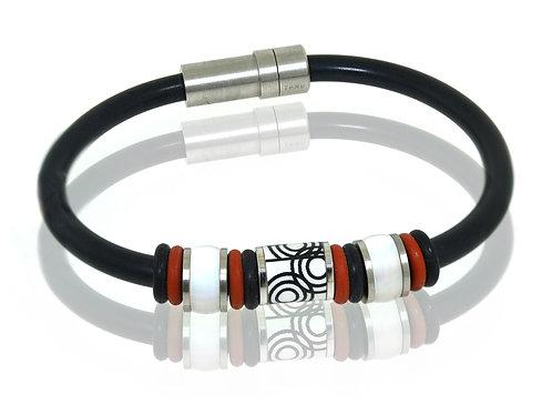 german mens beaded bracelet