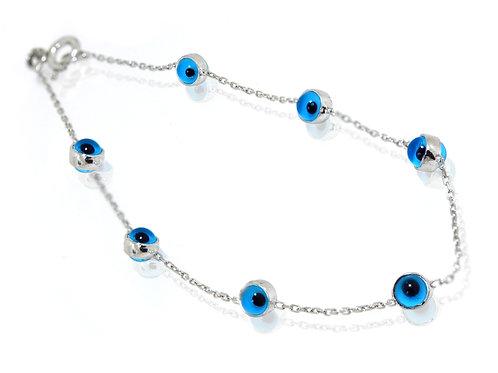 evil eye ladies bracelet