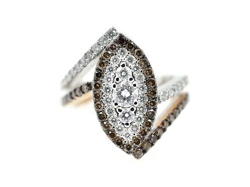 cogniac diamond dress ring