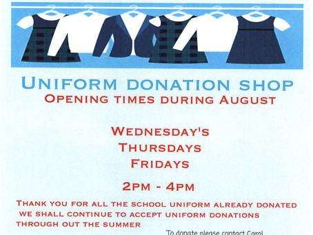 Uniform Donation Shop