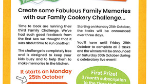 Family Cookery Challenge
