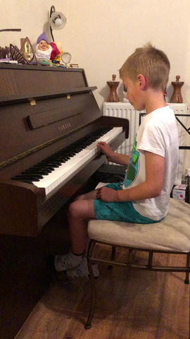Jack on the Piano!