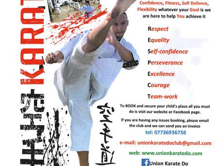 Karate Club in September
