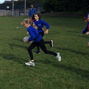 Year 6 House Tag Rugby Competition