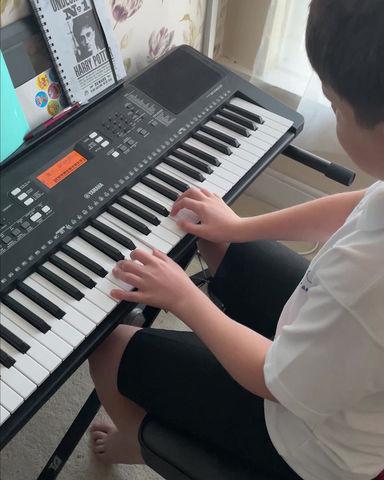 James' Piano Piece