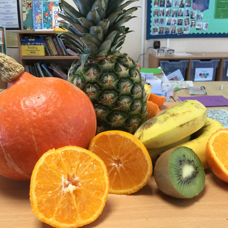 Still Life Drawing in Year 3