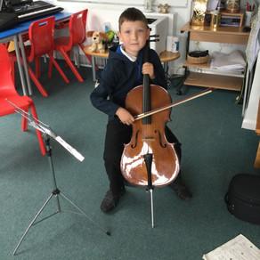 Jonathan's Cello!