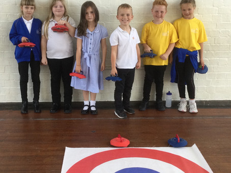 Year 3 and 4 Curling Competition