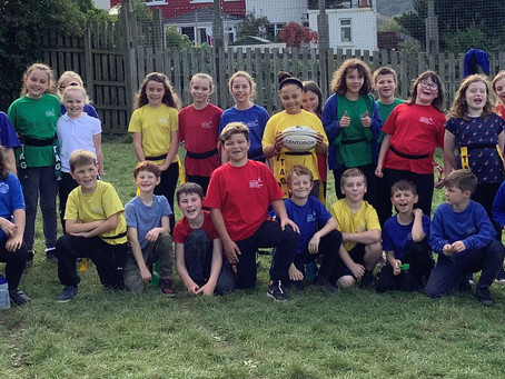 Yr 5 House Tag Rugby Competition