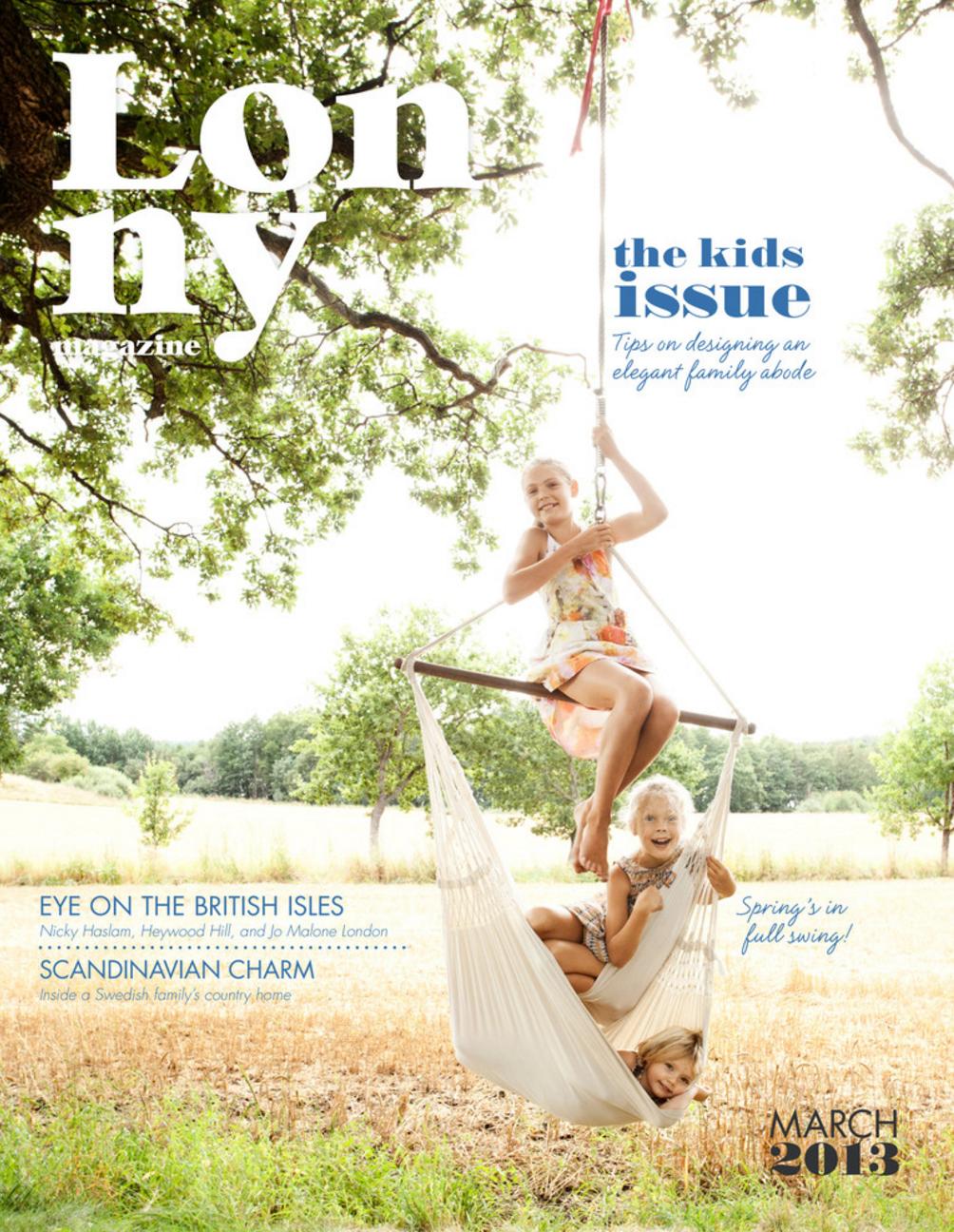 Lonny Magazine (March 2013)