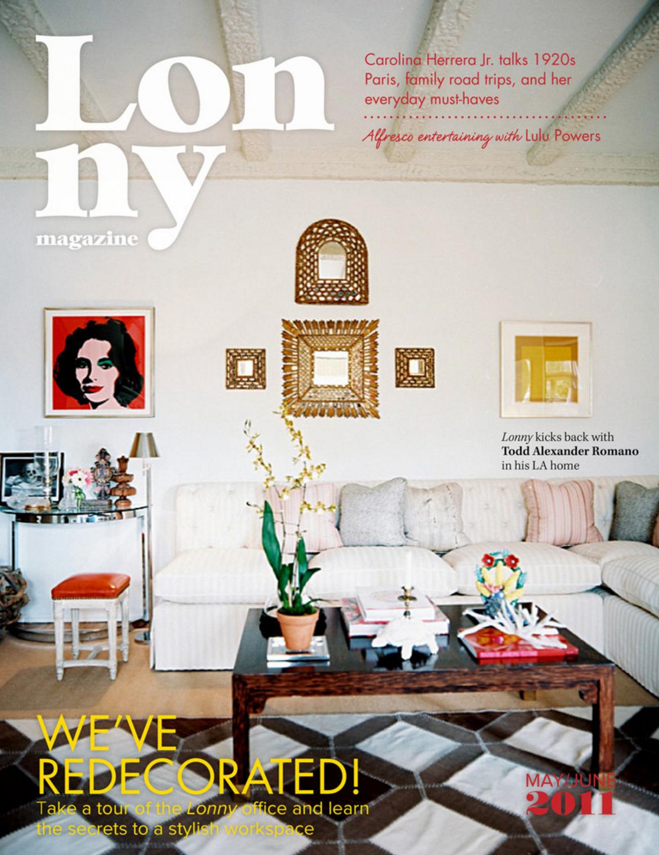 Lonny Magazine (May/June 2011)