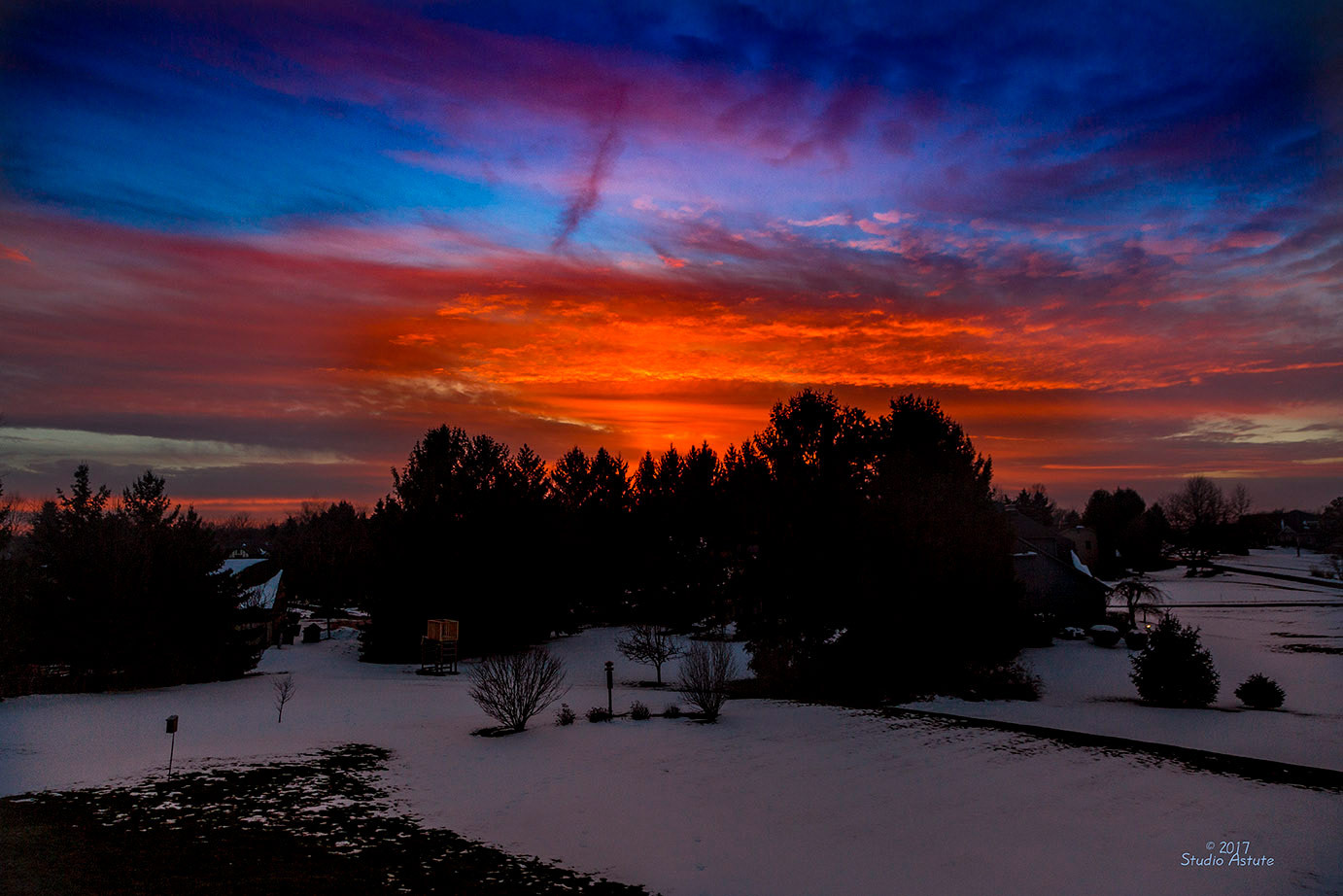 Reds and Blues of Fairport