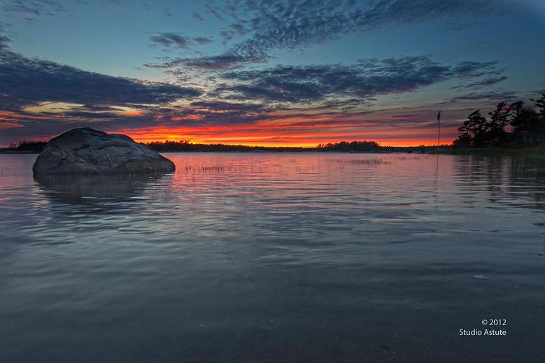 Good Night at the Bay