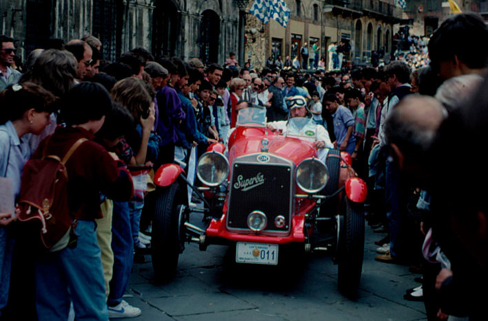 OM at the Mille Miglia