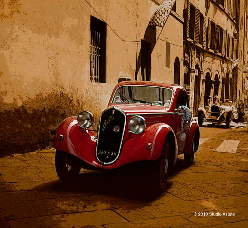 At the Mille Miglia