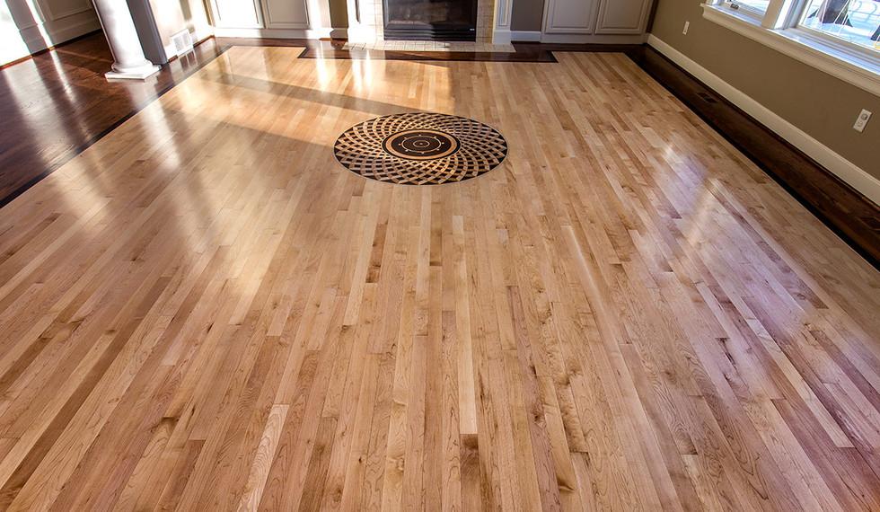 Wood floor installaton