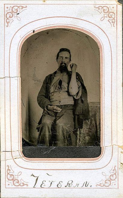 Civil War Veteran - Photo restoration by Steve Baldwin, Studio Astute