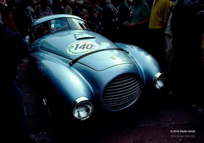 Ferrari at the Mille Miglia