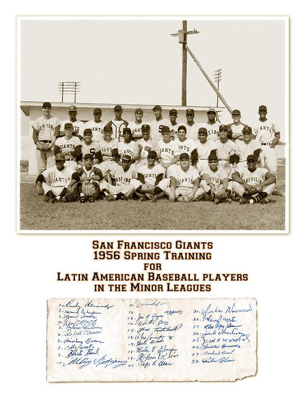 Restored photo of baseball players
