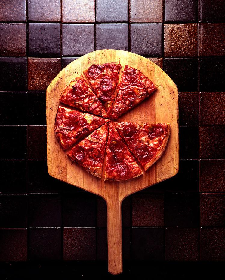 Pizza chain annual report cover