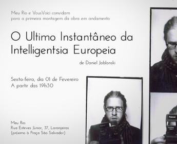 O último instantâneo da intelligentsia europeia | Escritório MEU RIO