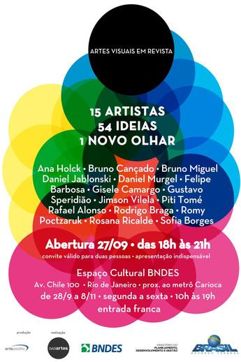 Artes visuais em revista | Espaço cultural BNDES, RJ