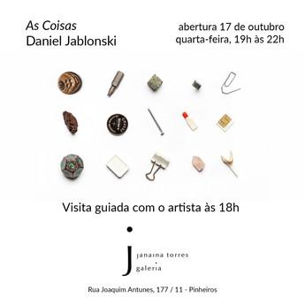 AS COISAS   Galeria Janaina Torres, SP