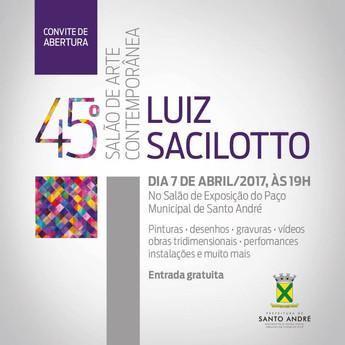 45# Salão de Arte Contemporânea Luiz Saciloto | Santo André, SP