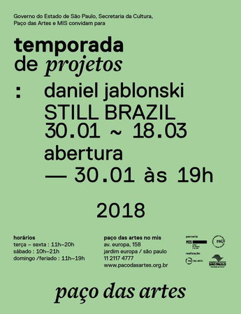 Still Brazil | Temporada de projetos do Paço das Artes, MIS - SP