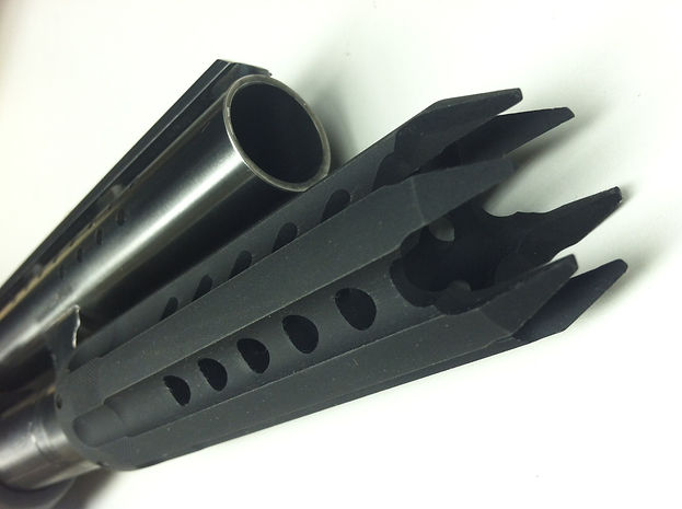 actical AR AK shotgun standoff breacher brake follower